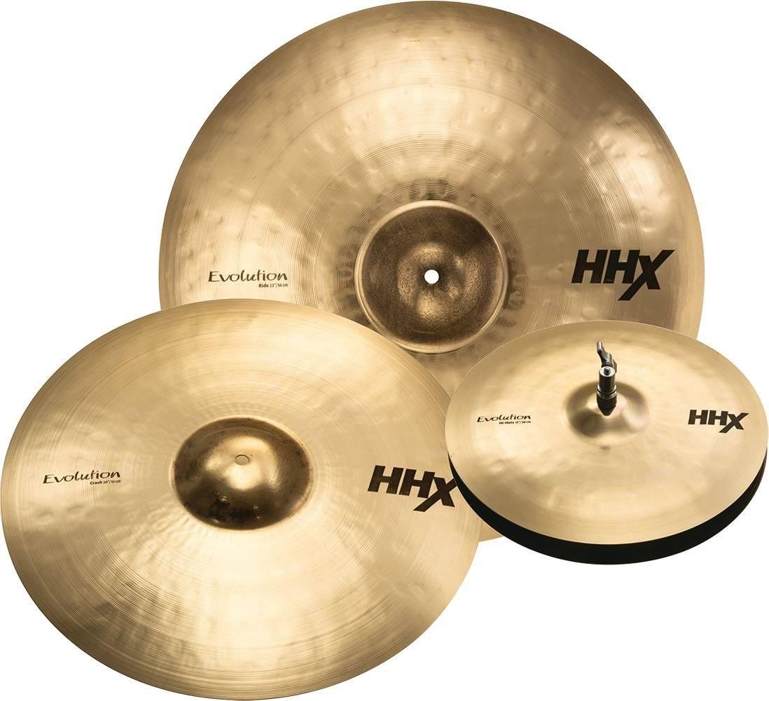 sabian hhx evolution cymbal set