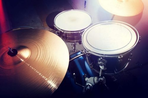 parts of a drum kit