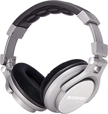 headphones grey