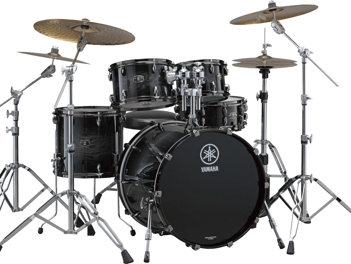 yamaha drum kit oak custom