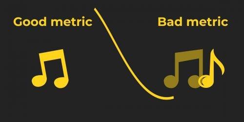 metric on drums