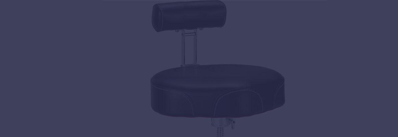 best drum throne with a backrest