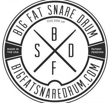 big fat snare drum logo