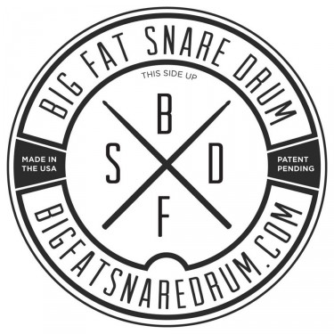 big fat snare drum logo