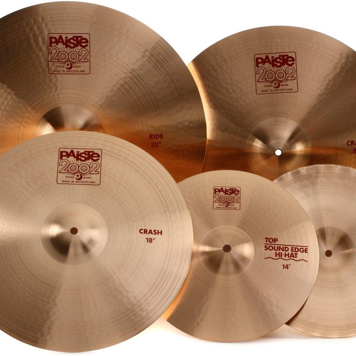 paiste cymbals best