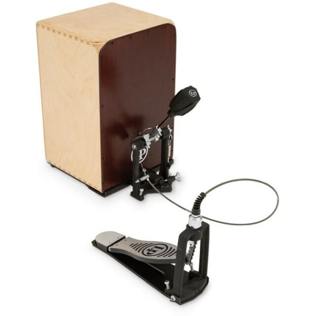 pedal for playing a cajon