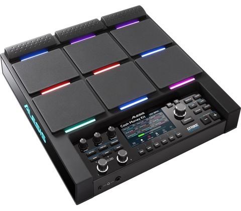 electronic sample pad