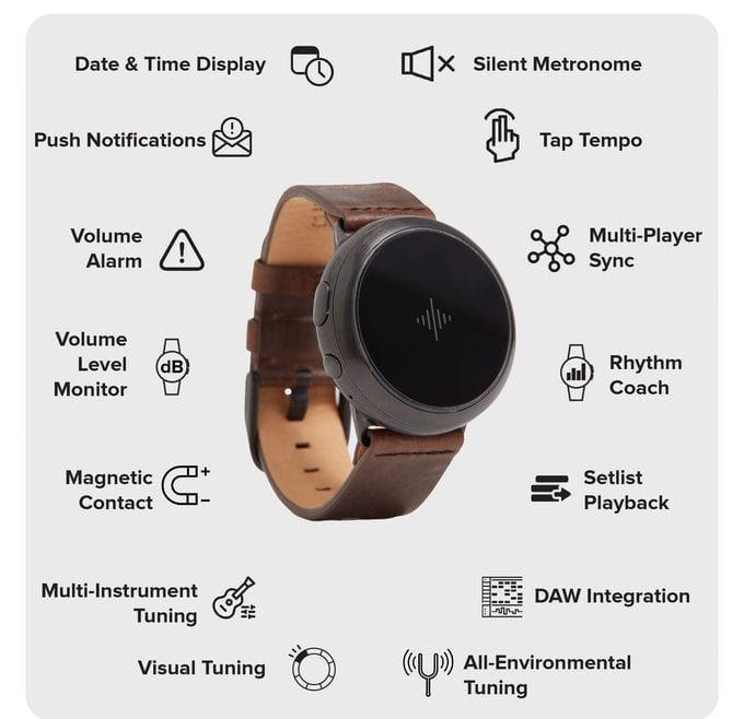 watch with metronome
